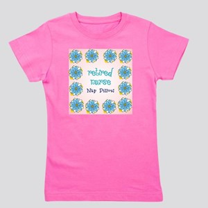 retired nurse nap pillow Girl's Tee
