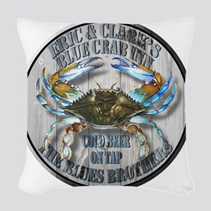 The Blues Brothers Woven Throw Pillow