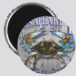 Chesapeake Bay Blues Magnet