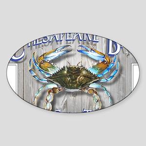 Chesapeake Bay Blues Sticker (Oval)