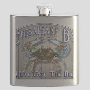 Chesapeake Bay Blues Flask