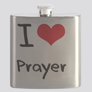 I Love Prayer Flask