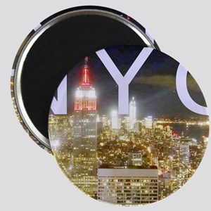 New York at Night II Magnet