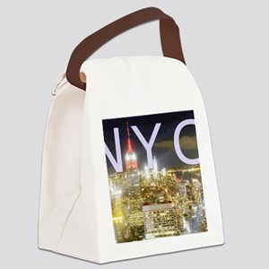New York at Night II Canvas Lunch Bag