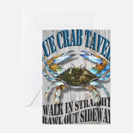 Blue Crab Tavern Greeting Card