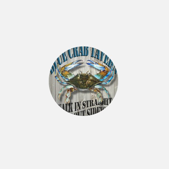 Blue Crab Tavern Mini Button