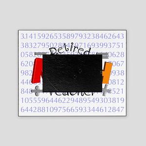 Retired Math Teacher BLANKET Picture Frame