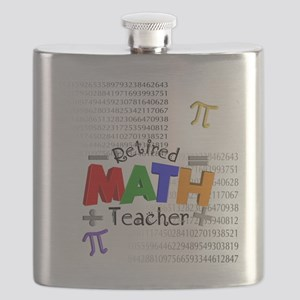 Retired Math Teacher 1 Flask