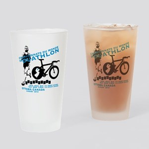 duathlon worlds Drinking Glass