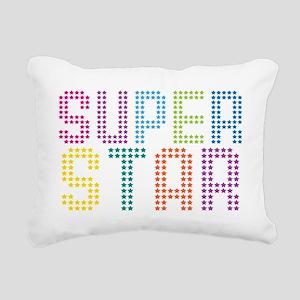 Superstar Rectangular Canvas Pillow