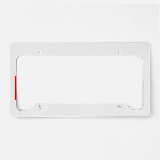 Technical Diver License Plate Holder