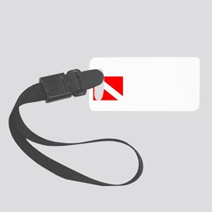 Technical Diver Small Luggage Tag