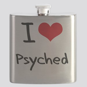I Love Psyched Flask