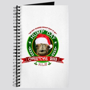 Hump Day Camel Christmas Ale Label Journal