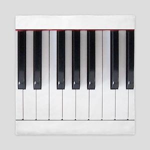Piano Keyboard 5 Queen Duvet