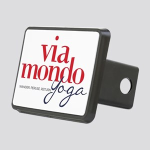 Via Mondo Yoga Rectangular Hitch Cover
