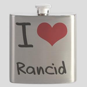 I Love Rancid Flask