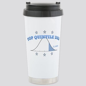 Top Quintile Dad Stainless Steel Travel Mug