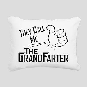 The Grandfarter Rectangular Canvas Pillow