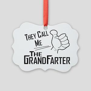 The Grandfarter Picture Ornament