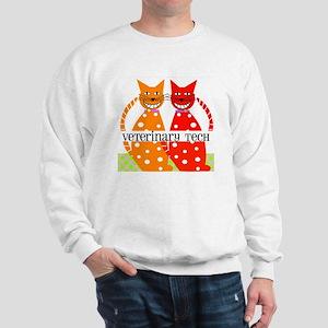 vet tech 3 Sweatshirt
