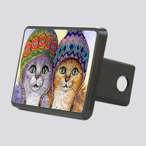 The knitwear cat sisters Rectangular Hitch Cover