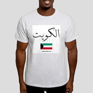 Kuwait Flag Arabic Light T-Shirt