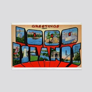 1000 Islands New York Rectangle Magnet
