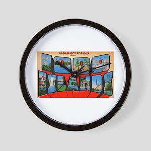 1000 Islands New York Wall Clock