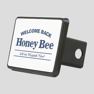 Honey Bee Rectangular Hitch Cover
