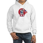 Patriotic Puppy Hooded Sweatshirt