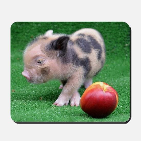 Peach as a Pig Mousepad