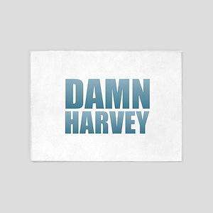 Damn Harvey 5'x7'Area Rug