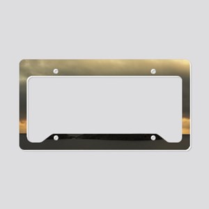Isolated islet License Plate Holder