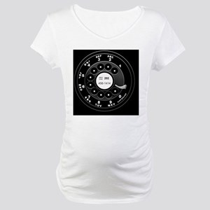 rotary-phone-dial-TIL2 Maternity T-Shirt