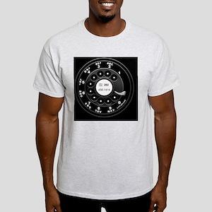 rotary-phone-dial-TIL2 Light T-Shirt