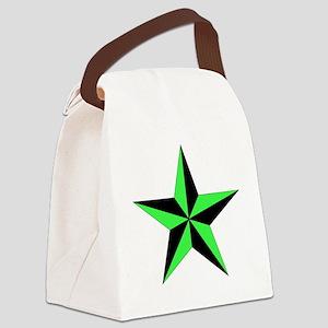 Nautical Star Canvas Lunch Bag