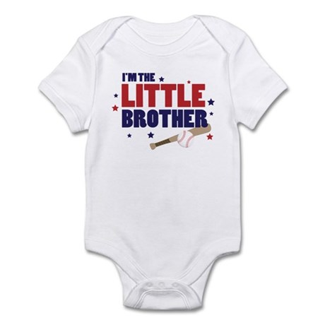 little middle big brother bas Infant Bodysuit