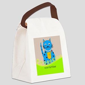 Nurse Practitioner cat Canvas Lunch Bag