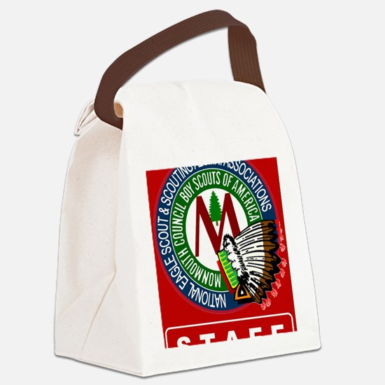 Staff Front Canvas Lunch Bag