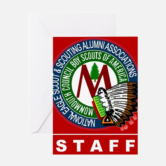 Staff Front Greeting Card