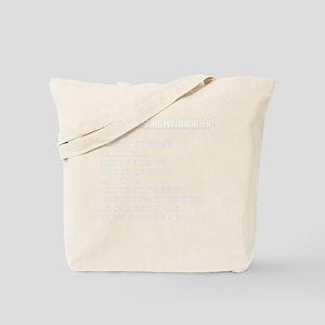 Daughter Rules Tote Bag