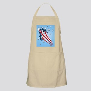 front-Womens-Sweeping American Flag Apron
