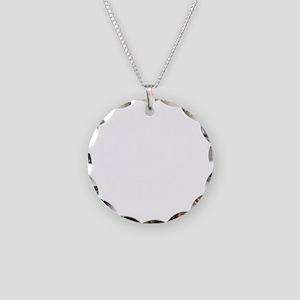 Quantum Mechanics Logo -2 Necklace Circle Charm