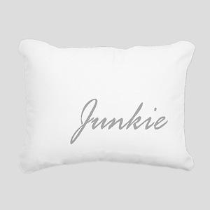 Gym Junkie Rectangular Canvas Pillow