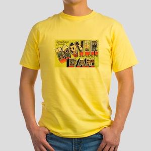 Hoover Boulder Dam (Front) Yellow T-Shirt