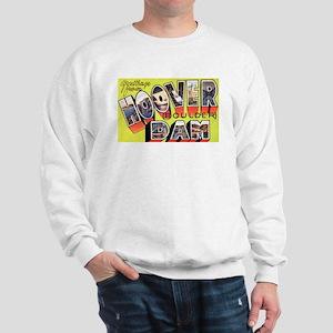 Hoover Boulder Dam (Front) Sweatshirt
