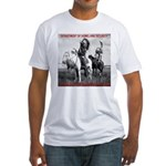 NDN Warriors Homeland Securit Fitted T-Shirt