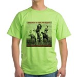 NDN Warriors Homeland Securit Green T-Shirt