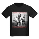 NDN Warriors Homeland Securit Kids Dark T-Shirt